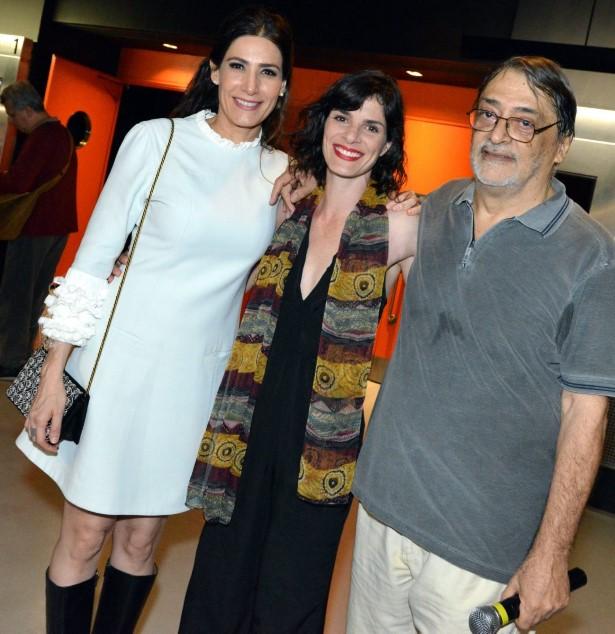 Walter Lima Jr, Isabel Gueron e Walter Lima Jr