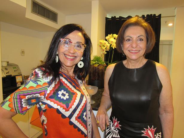 A médica Rita Modesto e Regina Weckerle