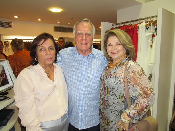 Buba Weckerle com Kissinha Borges e Lena Lebram