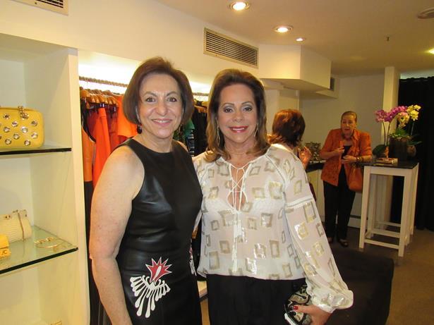 Regina Weckerle e amiga