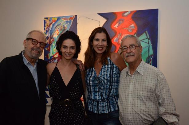 Luiz Aquila, Claudia Ohana e Carla Daniel e Luiz Carlos Lacerda