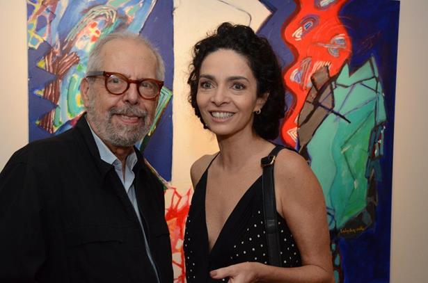 Luiz Aquila e Claudia Ohana