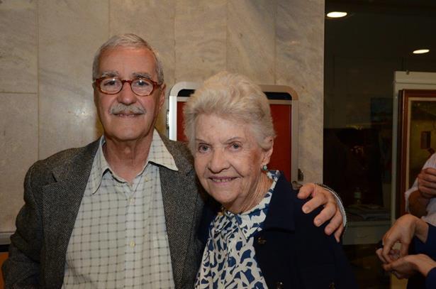 Luiz Carlos Lacerda e Thereza Miranda