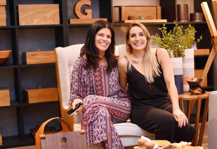 Maria Candida Machado e Manoela Balthazar