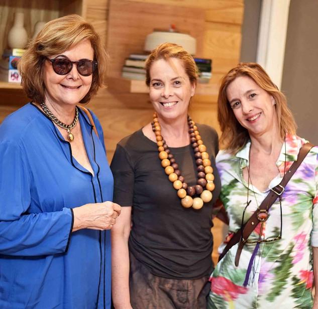 Maria Pfisterer, Bete Pádua e Bia Pinheiro