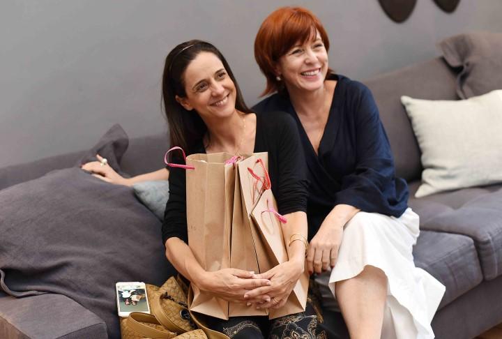 Paola Lobo e Adriana Tavares