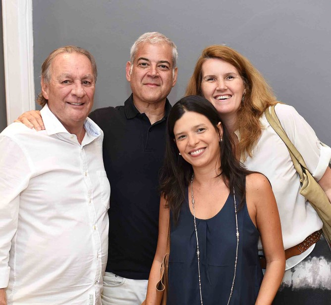 Rui Martinelli, Mauricio Nóbrega, Maria estelita e Bia Wolff