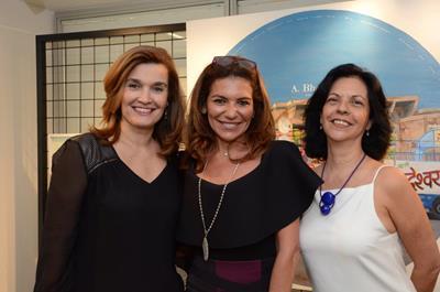 Taciana Aguinaga, Jacqueline Plass e Martha Pagy