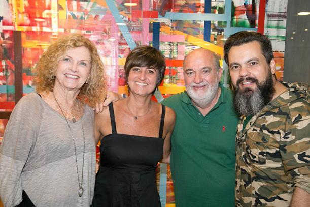 Ira Etz, Marcela Gontijo, Carlos Berrão e Ale Teixeira