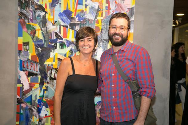 Marcela Gontijo e Felipe Scovino