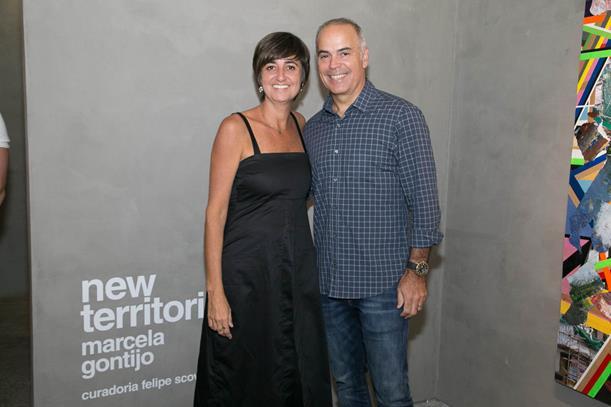 Marcela Gontijo e Marcelo Teixeira