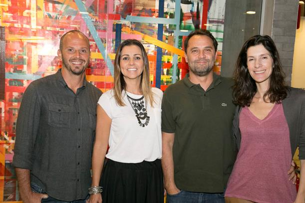 Ricardo e Juliana Kimaid e Marcelo e Marcia Viana