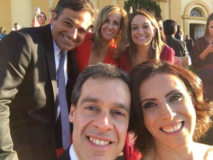 Marcelo e Ana Lopes e Julia Rabonovici, Bento e Leticia moreira franco