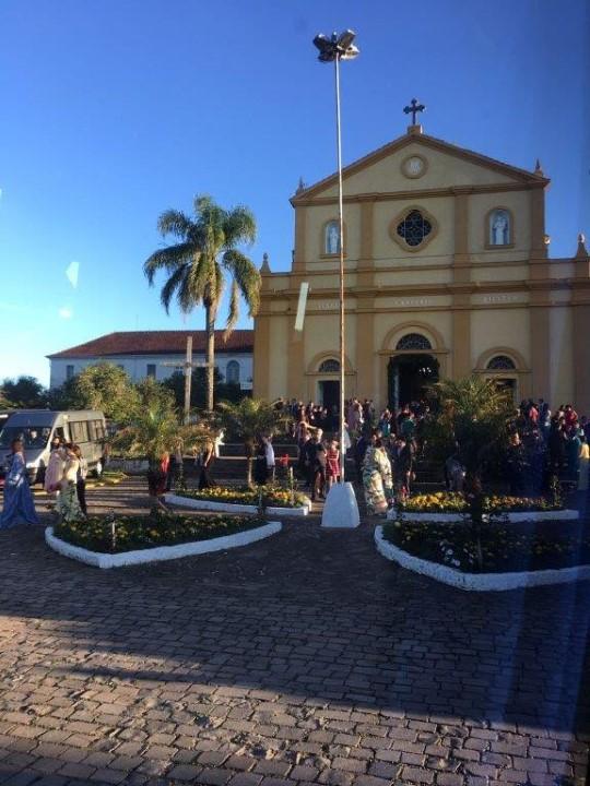 Igreja de Nossa Senhora do Rosário de Pompeia, em Pinto Bandeira