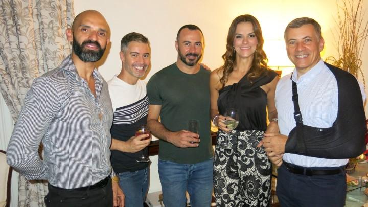 Luciano Lucas, Jayme Drummond,  e Sheila Lustosa