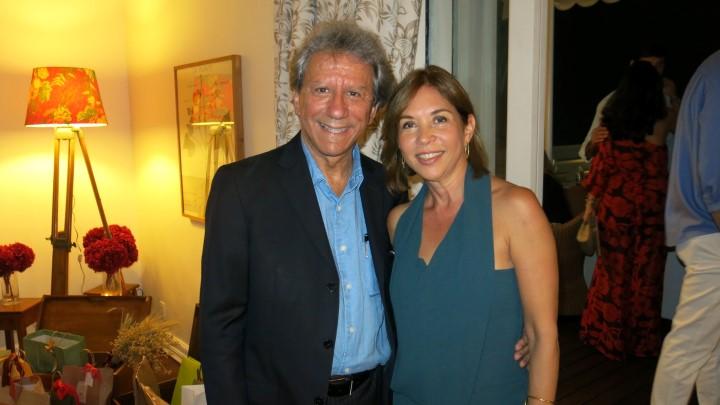 Paulo Brun e Raquel Velho