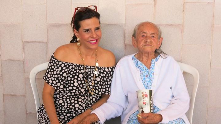 Narcisa Tamborindeguy e Dona Rosa Garcia