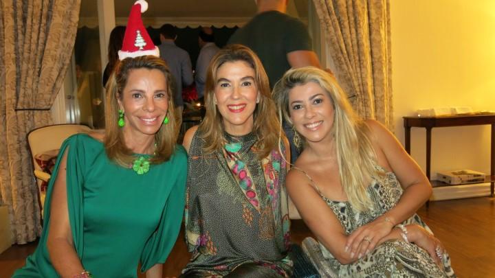 Monica Moreira de Souza, Bete Floris e Claudia Martinez