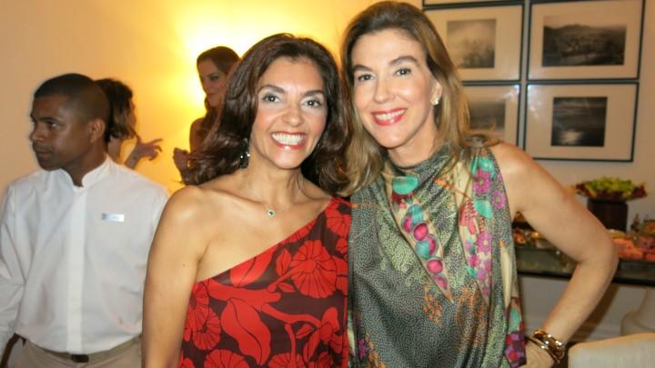 Ana Cristina Vilaça e Bete Floris
