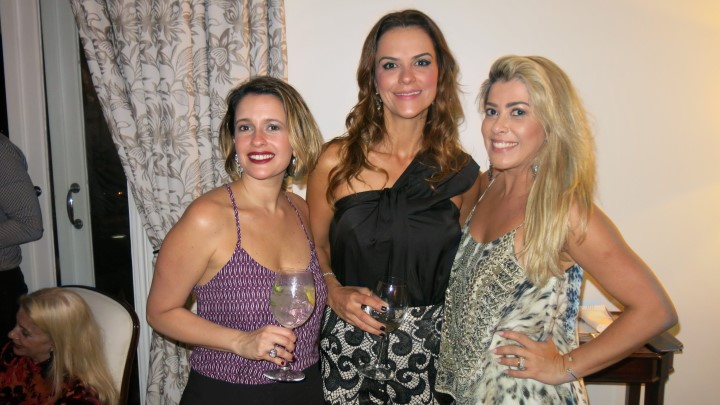 Marcela Lima Rocha e Sheila Lustosa e Claudia Martinez