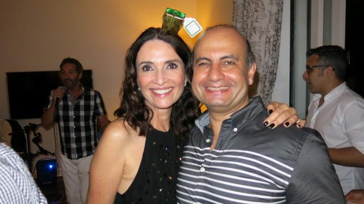 Andrea Natal e Adriano Wohlcke