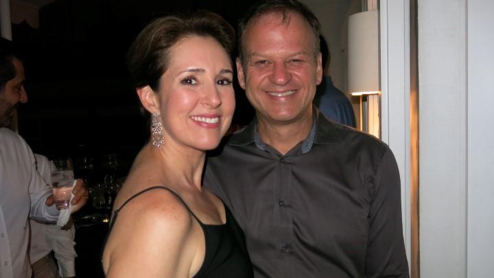 Renata Capucci e Ivo Sternick,