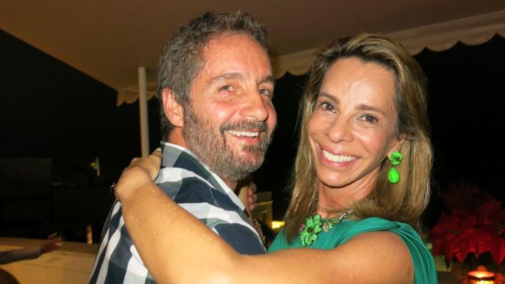 Pedro Guimarães e Monica Moreira de Souza