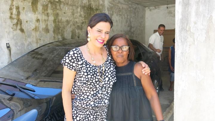 Narcisa Tamborindeguy e Dona Ivone