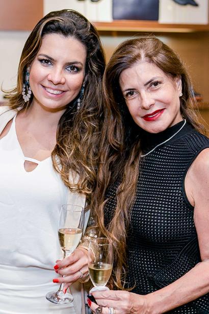Gisele Chami e Vania Chami