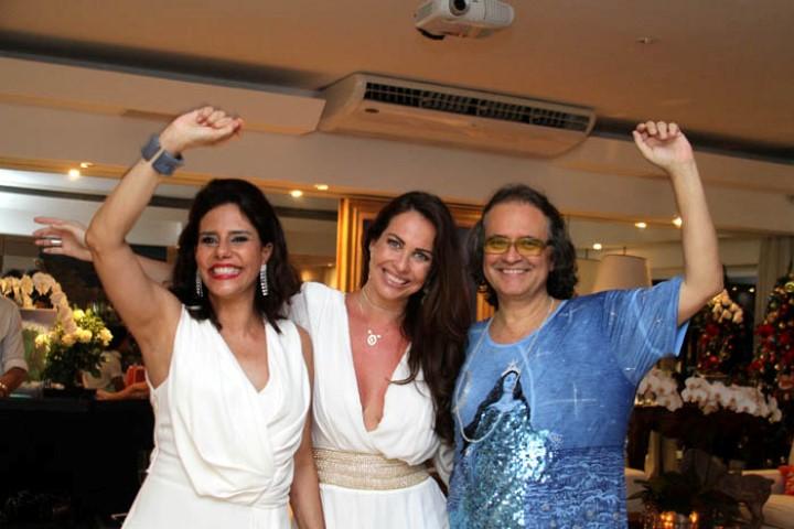 Narcisa Tamborindeguy, Carina Michelangelo e Zé Ronaldo Müller