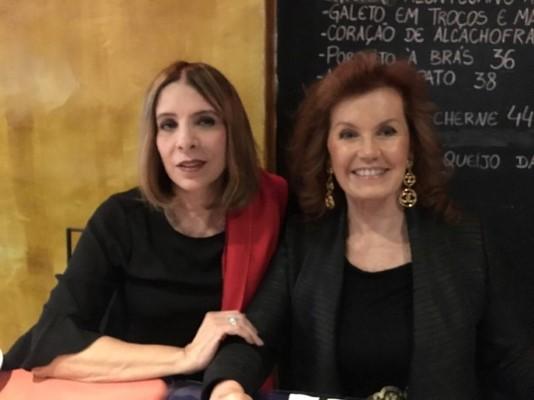 Gloria Maria brilha no jantar para os cônsules de Portugal no Rio Lisboa