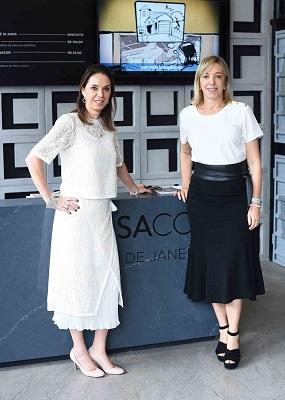 Anette Rivkind e Esther Schattan armam almoço na CasaCor Rio 2017
