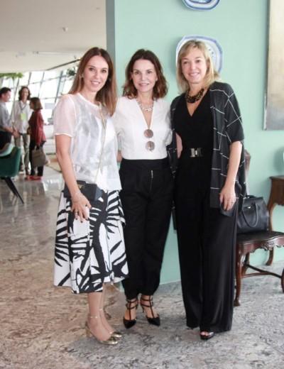 Anette Rivkind e Ester Schattan armam almoço no CasaCor Rio para arquitetos e imprensa