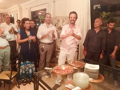 Giovanna Deodato abre os salões e celebra o amigo Alexis de Vaulx