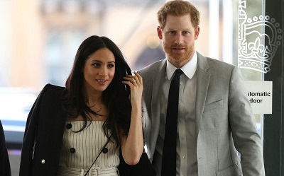 Principe Harry e Meghan Markle juntos no Commonwealth Youth Forum