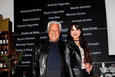 """A estreia do filme """"'Contra a Parede"""" com Antonio Fagundes no Vintage Wine Bar"""