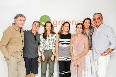 Luciano Huck na inauguração da nova fábrica da GreenPeople no município de Três Rios