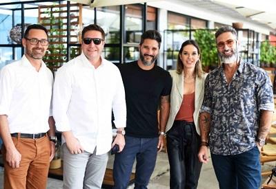 Almoço no preview da ARTRIO reúne arquitetos decoradores e designers na Marina da Glória