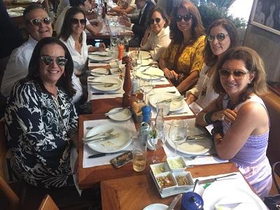 Almoço de amigas com Isabel Sued Perrin no Esplanada Grill