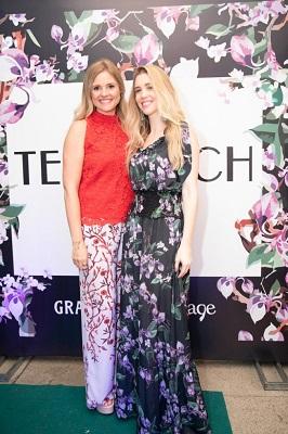 Nicole Abramoff e Mariana Elmann apresentam a coleção Tee Match Kids Verao 2019 no Fashion Mall