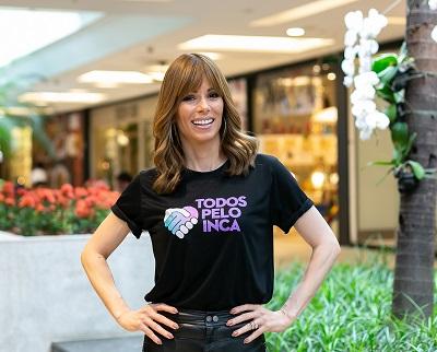 Ana Furtado organiza o Bazar Todos Pelo INCA com peças doadas por famosos no Fashion Mall