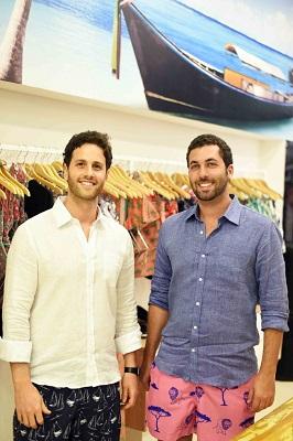 Os empresários Alexandre Reitzfeld e Michel Lassner abrem a Short CO no Shopping Leblon