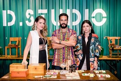 Betina de Luca +Leo Neves e Paloma Danemberg apresentam coleção de acessórios da AD.STUDIO