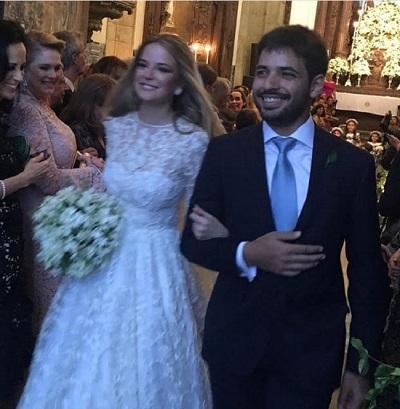 Maria Beatriz Gouvea Vieira e Christian Telles casam-se em uma das mais lindas cerimonias do ano
