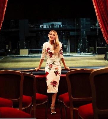 Eleonora Abbagnato diva do ballet europeu fica á frente do Teatro dell´Opéra di Roma por mais dois anos