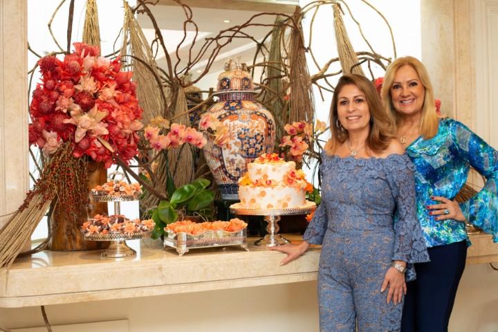 Alda Soares homenageia Cristina Lips no seu B-Day com sunset show em Ipanema