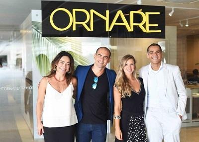 Aline Araujo e Alex Oliveira armam talk show na Ornare do Casashopping