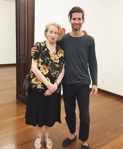 "Lucio Salvatore abre sua individual ""LINEE"" na Martha Pagy Escritório de Arte"