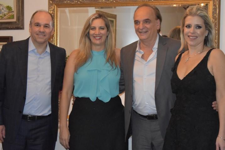 Ana Paula Rudge e Paulo Hamilton Siqueira Júnior recebem Paulo Dimas de Bellis Mascaretti o novo Secretário de Justiça de São Paulo