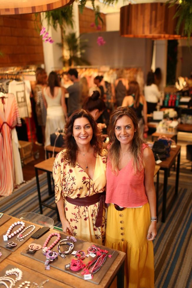 Roberta LImmer e Selma Ribeiro armam a 3 ª Edição do Galeria + em Ipanema